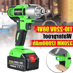 1/2'' 320NM Cordless Impact Wrench Electric Torque DrillI To