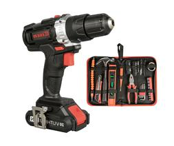 Eisen EI010 20V Cordless Impact Drill with 50-Piece Hand Too