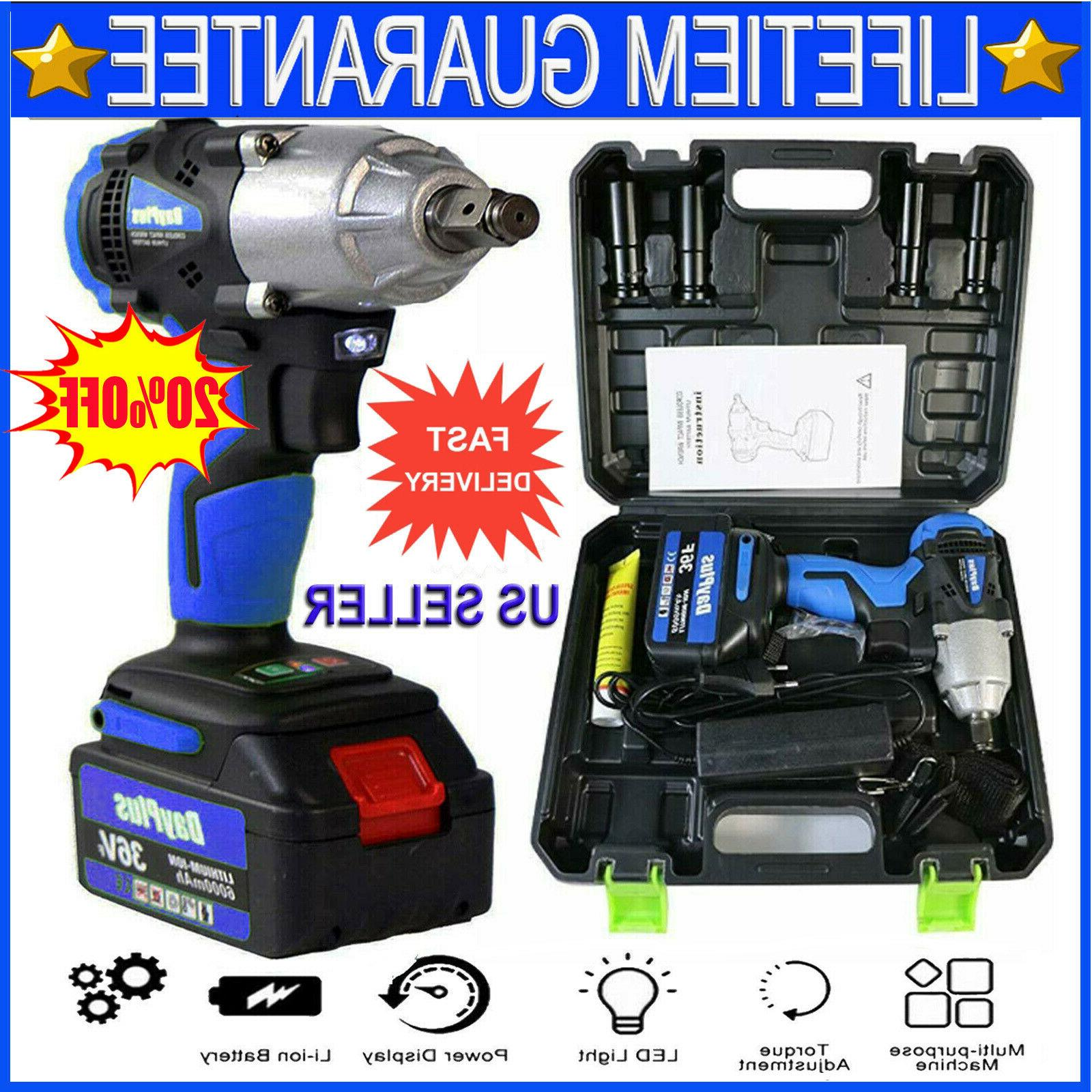 cordless impact wrench 1 2 inch driver
