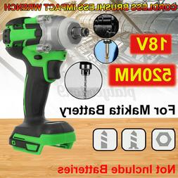 For Makita Battery DTW285Z Cordless Brushless Impact Wrench